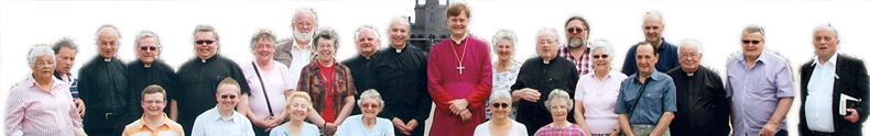 The 2012 pilgrimage group